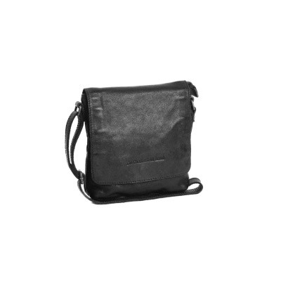 Photo of Leather Shoulder Bag Anthracite Clermont