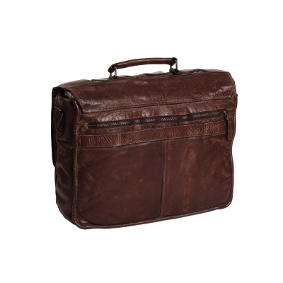 Photo of Leather Briefcase Brown Aberdeen