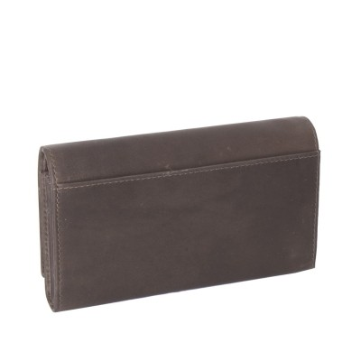 Photo of Leather Wallet Taupe Mirthe