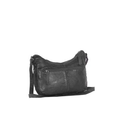 Photo of Leather Shoulder Bag Black Lena