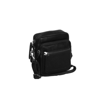 Photo of Leather Shoulder Bag Black Kerry