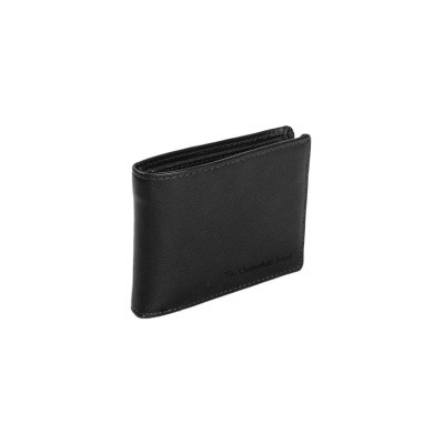 Leather Wallet Black Dejan