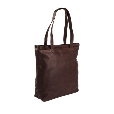 Leather Shopper Brown Bonn