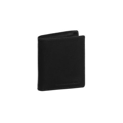 Photo of Leather Wallet Black Damme