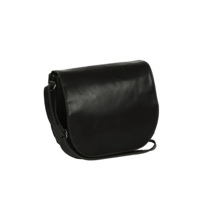 Photo of Leather Shoulder Bag Black Dijon