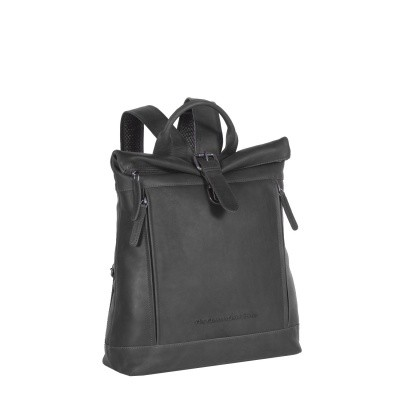 Leather Backpack Black Dali