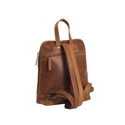 Photo of Leather Backpack Cognac Naomi
