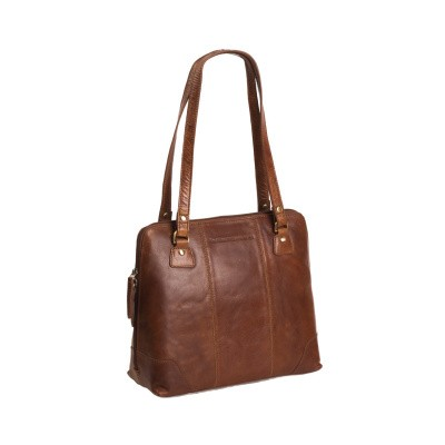 Photo of Leather Shoulder Bag Cognac Elly