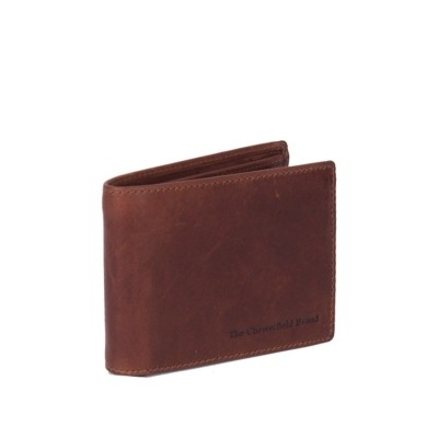 Leather Wallet Cognac Marvin