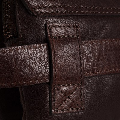 Photo of Leather Waist Pack Brown Carter