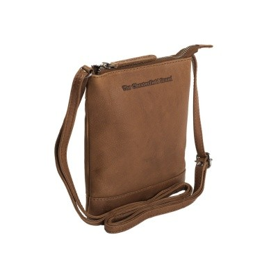 Photo of Leather Shoulder Bag Cognac Jess