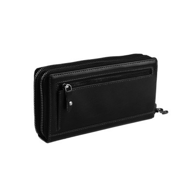 Photo of Leather Wallet Black Zoe
