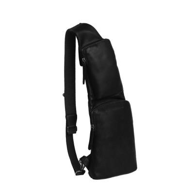 Photo of Leather Crossbody Bag Black Logan