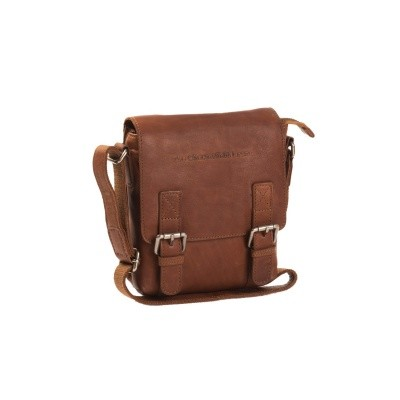 Photo of Leather Shoulder Bag Cognac Jesse