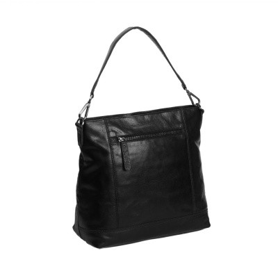 Photo of Leather Shoulder Bag Black Annic