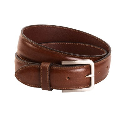 Leather Belt Cognac Dash