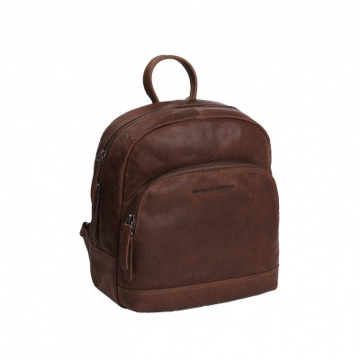 Leather Backpack Brown Dortmund