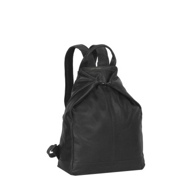 Photo of Leather Backpack Black Manchester