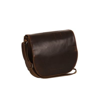 Photo of Leather Shoulder Bag Cognac Dijon