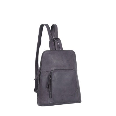 Photo of Leather Backpack Navy Vivian
