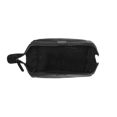 Photo of Leather Toiletry Bag Black Vince