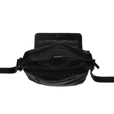 Photo of Leather Shoulder Bag Black Bowie