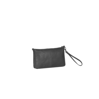 Photo of Leather Clutch Black Sky