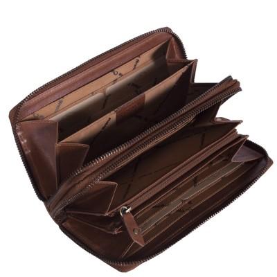 Photo of Leather Wallet Cognac Zoe