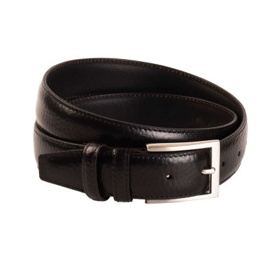 Leather Belt Black Clark