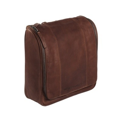Photo of Leather Toiletry Bag Brown Basel
