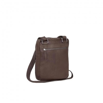 Photo of Leather Shoulder Bag Brown Edward