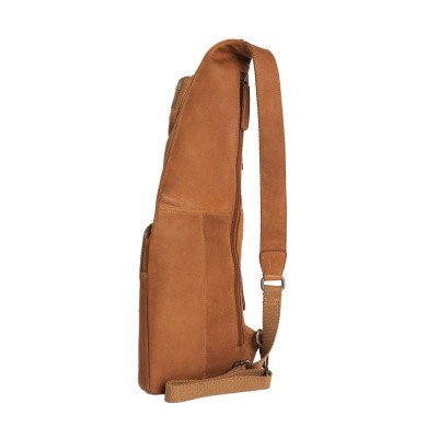 Photo of Leather Crossbody Bag Cognac Cognac
