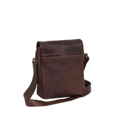 Photo of Leather Shoulder Bag Brown Remy