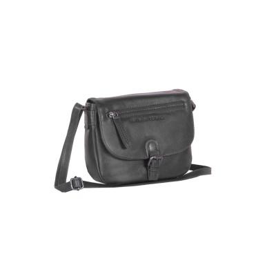 Leather Shoulder Bag Black Fay
