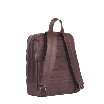Photo of Leather Backpack Brown Dex