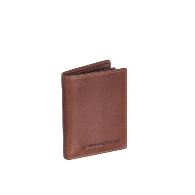 Leather Wallet Cognac Mason