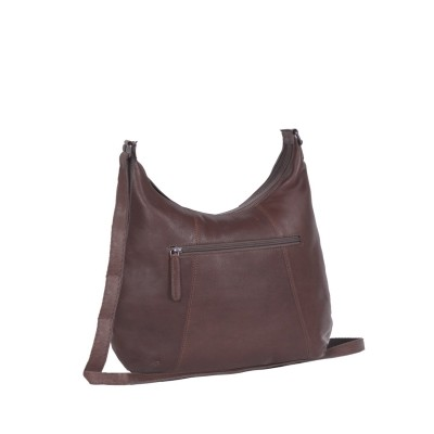 Photo of Leather Shoulder Bag Brown Jolie