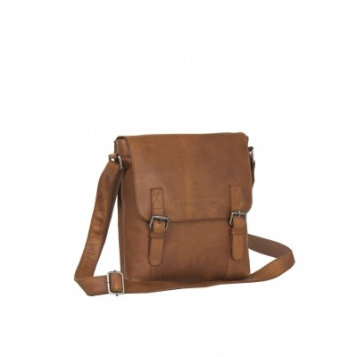 Leather Shoulder Bag Brown Eri
