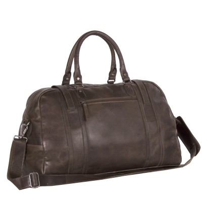 Photo of Leahter Travelbag Taupe Avan