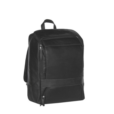 Photo of Leather Backpack Black Rich