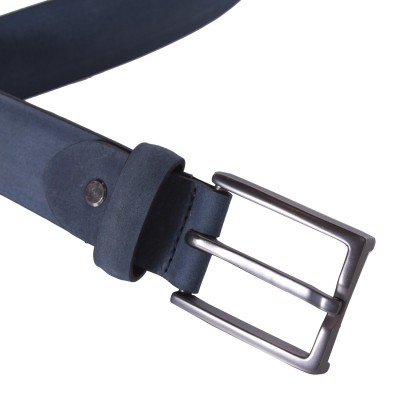 Photo of Leather Belt Levi Navy