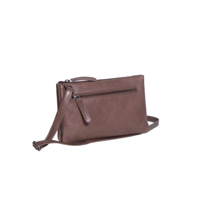 Leather Wallet Taupe Eira