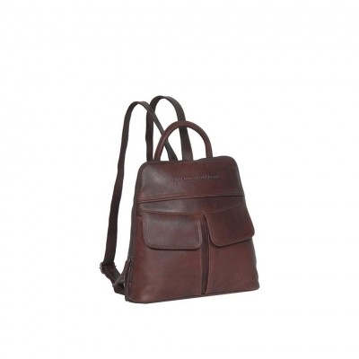 Leather Backpack Brown Teresa
