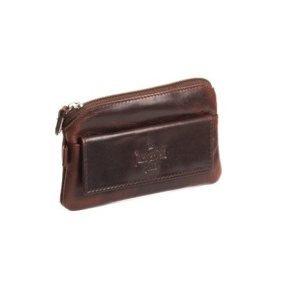 Leather Key Pouch Brown Miles