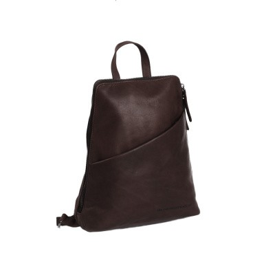 Leather Backpack Brown Clair