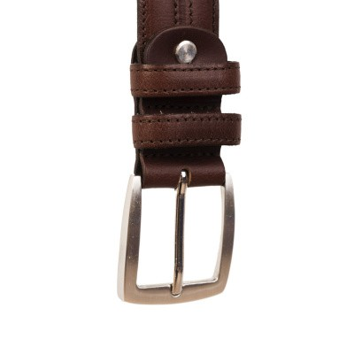 Photo of Leather Belt Brown Lennon