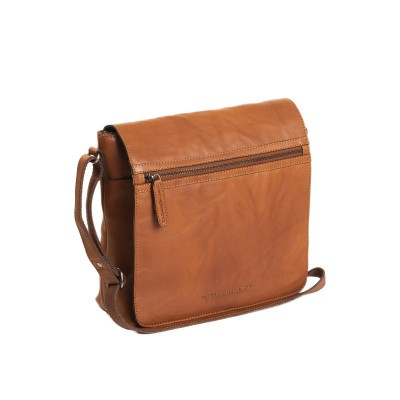 Photo of Leather Shoulder Bag Cognac Parker