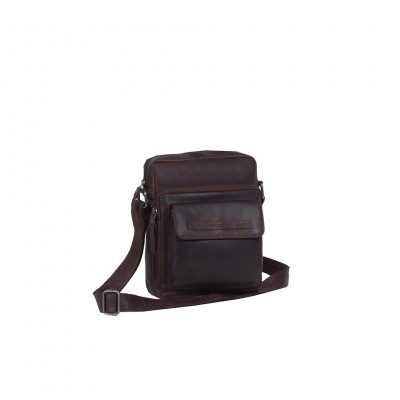 Leather Shoulder Bag Brown Bath