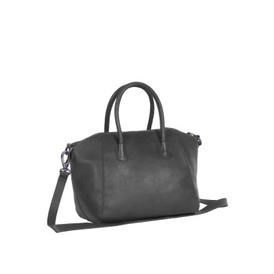 Photo of Leather Shoulder Bag Black Alexa