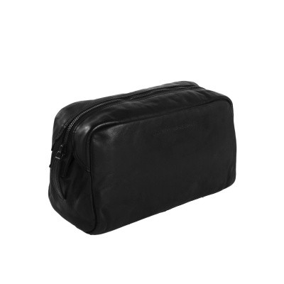 Photo of Leather Toiletry Bag Black Label Anthracite Brisbane